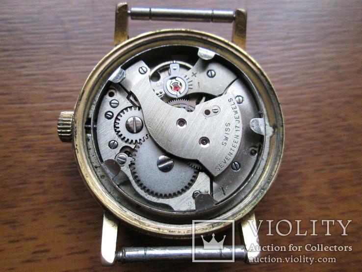 Швейцарские часы Ermano (позолота 20 микрон), фото №10