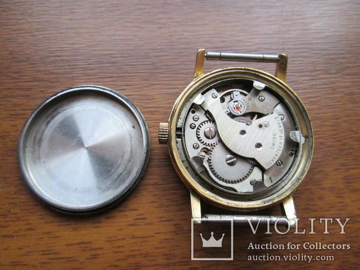 Швейцарские часы Ermano (позолота 20 микрон), фото №11