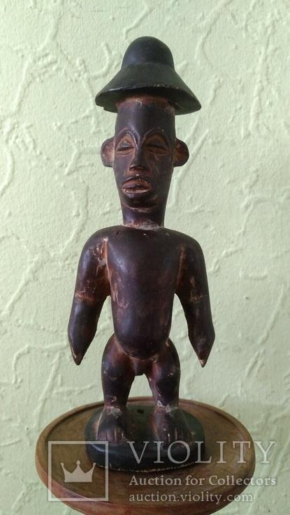 Африканская статуэтка конго. Пр. 1880 - 1900