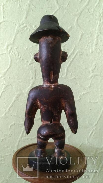 Африканская статуэтка конго. Пр. 1880 - 1900, фото №4