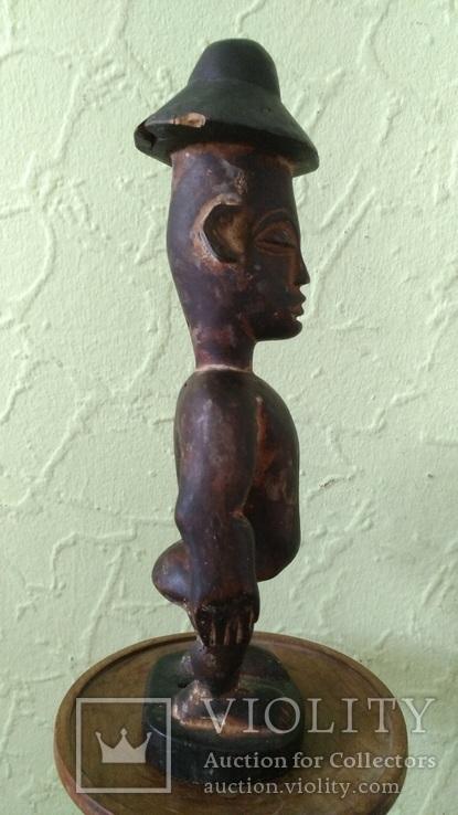 Африканская статуэтка конго. Пр. 1880 - 1900, фото №8