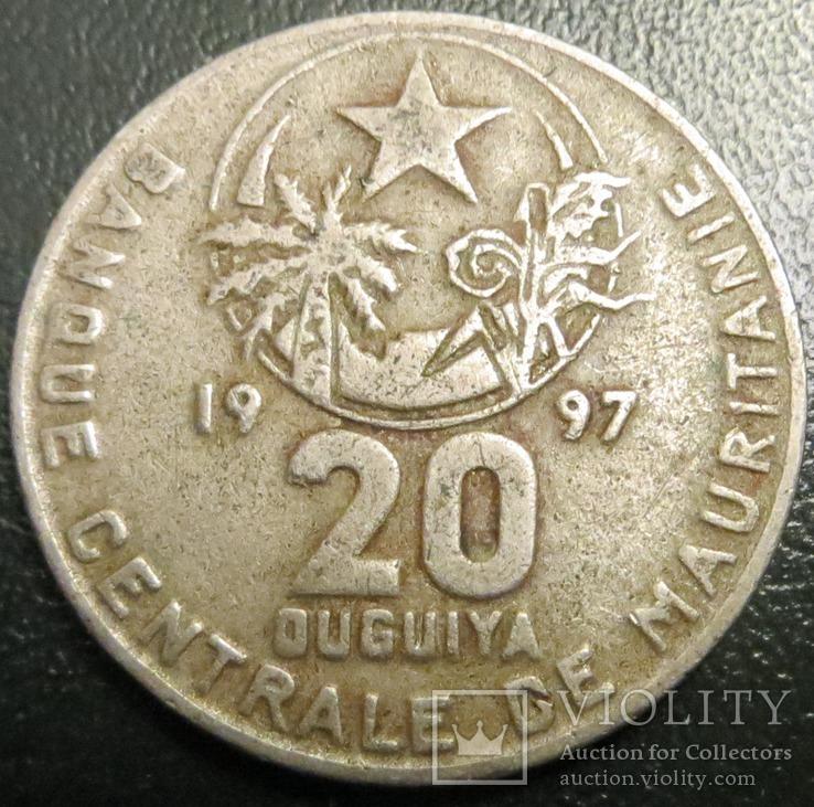 Мавританія 20 угія 1997 рік, фото №3