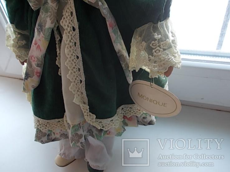 Фарфоровая кукла. Monique Финляндия  41 см., фото №6