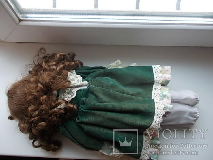 Фарфоровая кукла. Monique Финляндия  41 см., фото №13