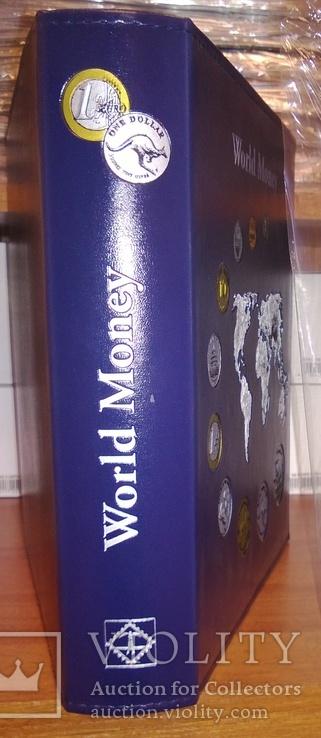 АЛЬБОМ на 152 монеты OPTIMA WorldMoney с тиснением, Leuchtturm, фото №5