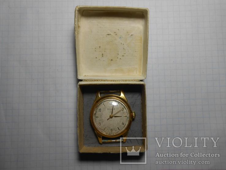 Часы Россия Au в ромбе позолота Рабочие, фото №2
