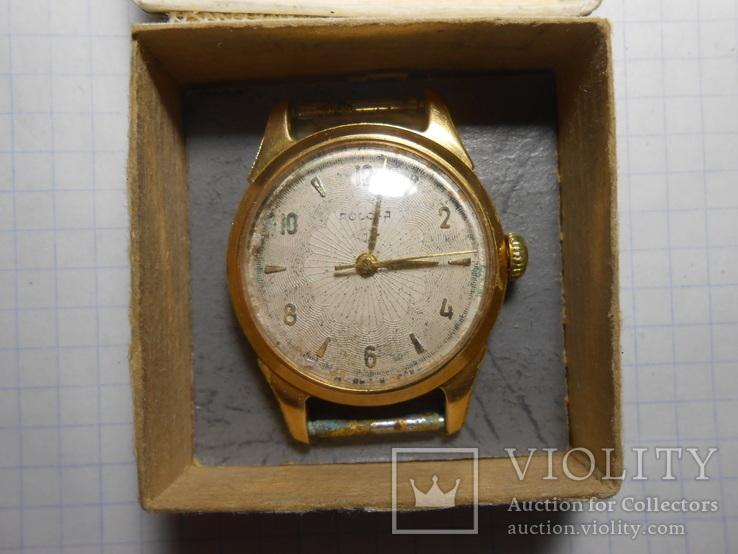 Часы Россия Au в ромбе позолота Рабочие, фото №3