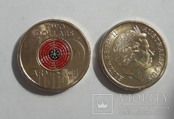 Australia Австралия - 2 Dollars 2018 UNC Armistice JavirNV