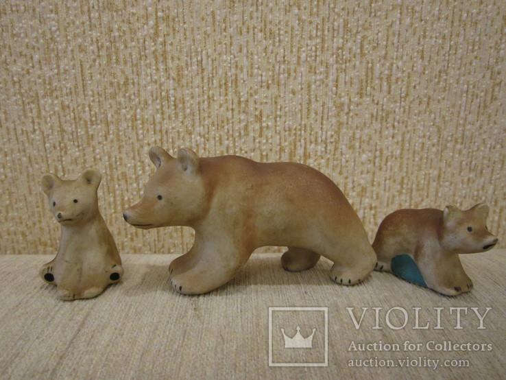 Мишки семья трио, фото №2