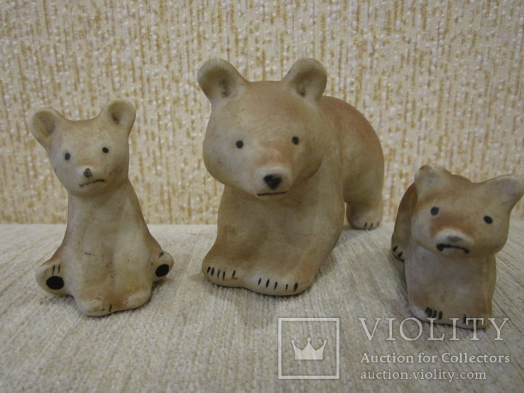 Мишки семья трио, фото №12