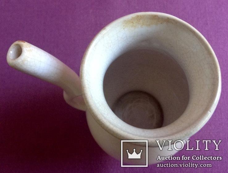 Кружка для минеральной воды *Карловы Вары*. Фарфор. Позолота., фото №3