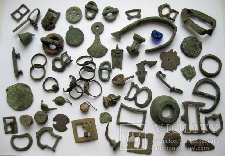 Предметы ЧК - КР - древность набор бронзы
