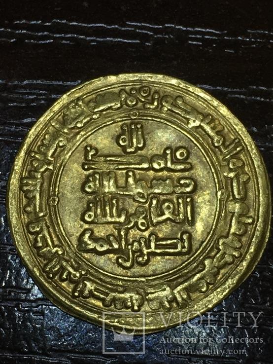 Золото динар Саманиды,Наср б. Ахмад, 321 г.х.,Нишапур 914-943