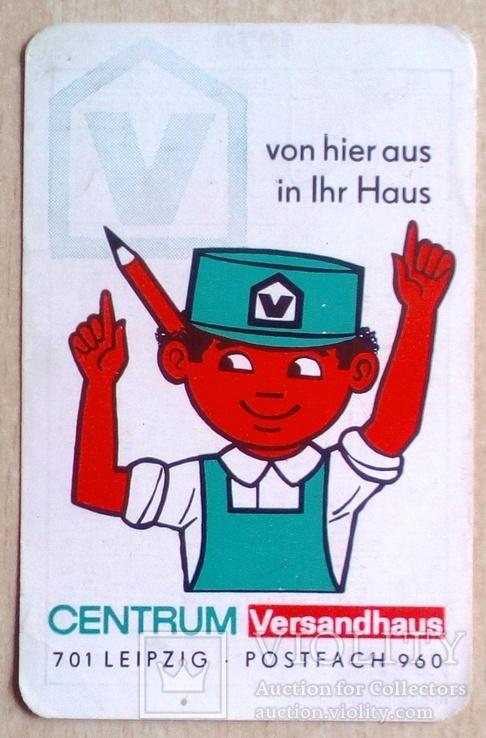 Немецкий календарик 70 г.