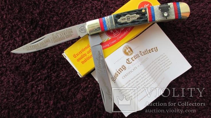 Складной нож Kissing Crane. Limited edition.