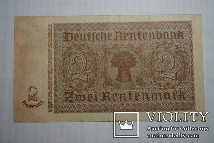 Бона 2 марки 1937 р. Німеччина, фото №4