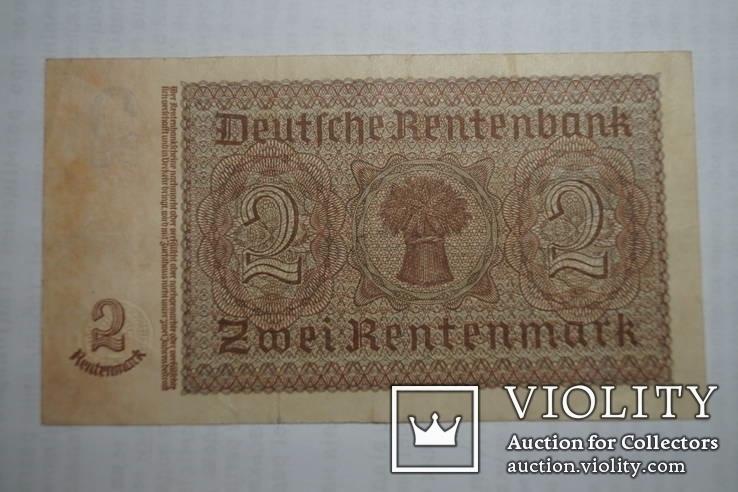 Бона 2 марки 1937 р. Німеччина, фото №5