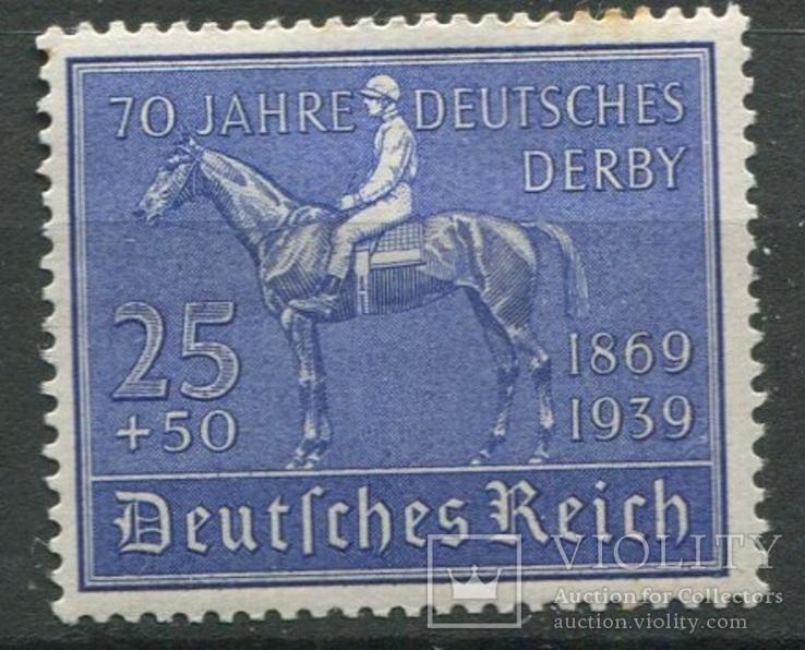 1939 Рейх  скачки полная серия MNH