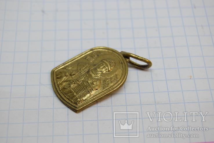 Ладанка Княгиня Ольга. латунь, фото №3