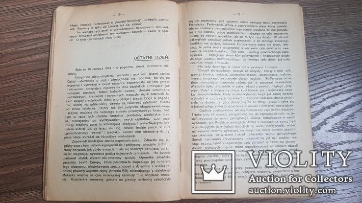 W płomieniach: Lwów w lecie 1914  Jerzy Bandrowski 1917 р., фото №7