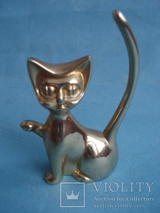 Кошечка, хвост трубой для ювелирных аксессуаров., фото №2