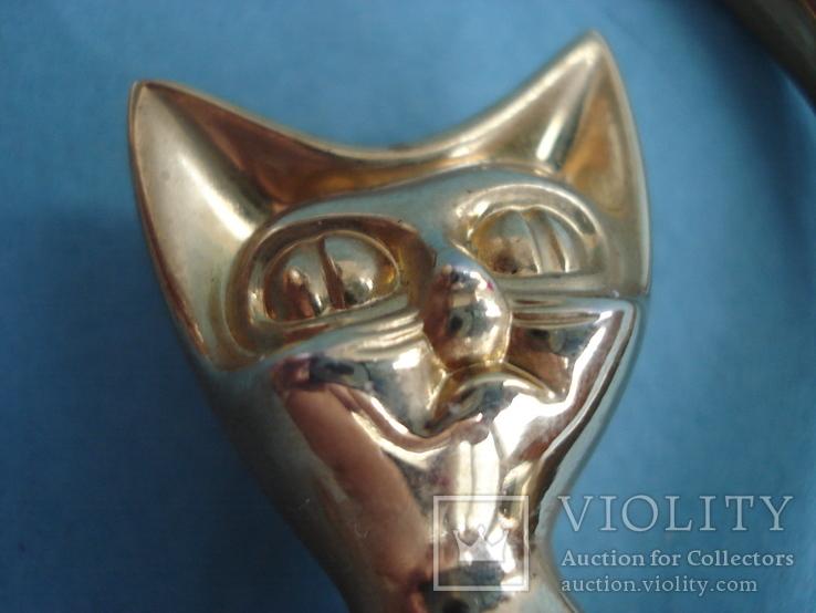 Кошечка, хвост трубой для ювелирных аксессуаров., фото №4