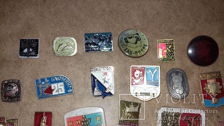 Значки разные 25 штук, фото №3