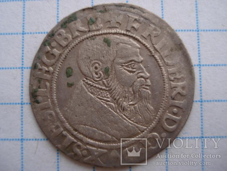 Грош 154Zр.Фрідріх ІІ Великий.Сілезія-Легніца-Бжег