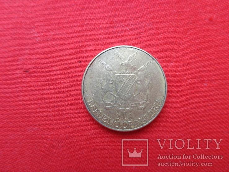 Намибия, 1 доллар, 2010 г., фото №3