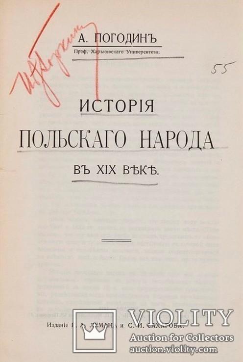 1915 История польского народа в 19 веке