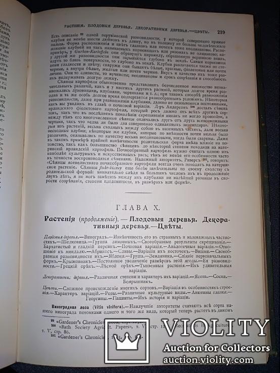 1911 Иллюстрированое сочинение Дарвина, фото №10