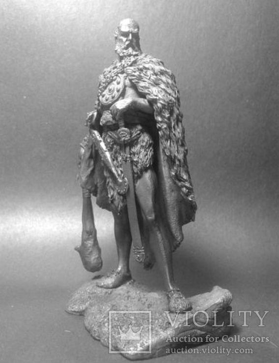 Германский воин.( 166—180 г.н.э Маркоманская война) 75мм., фото №3
