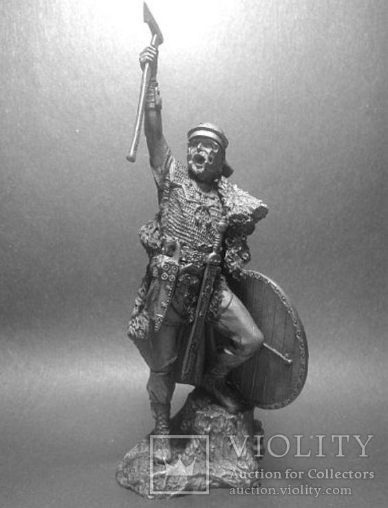 Германский воин.(Би́тва в Тевтобу́ргском Лесу́ , 9 год н.э). 75мм.