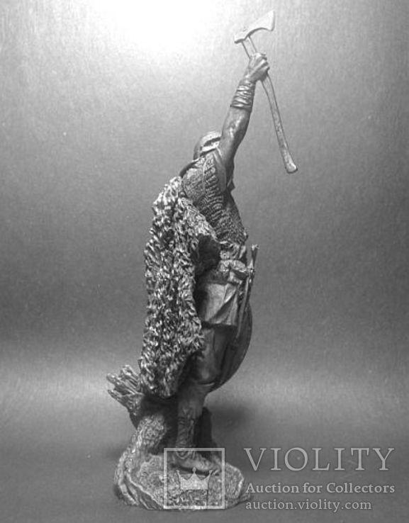 Германский воин.(Би́тва в Тевтобу́ргском Лесу́ , 9 год н.э). 75мм., фото №3