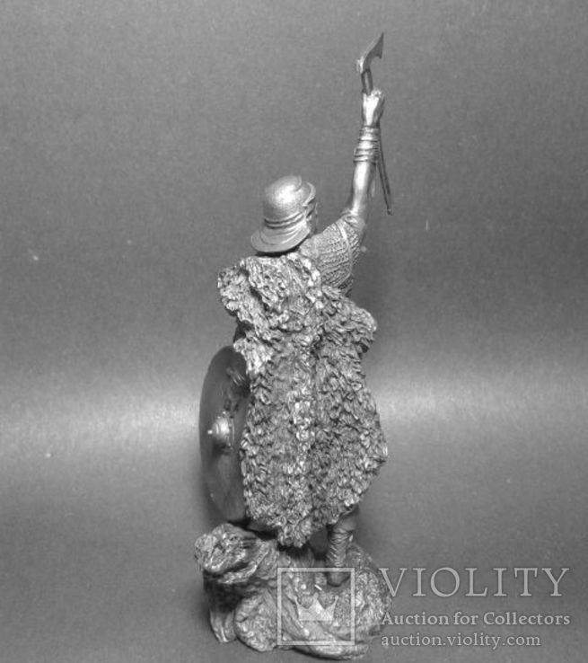 Германский воин.(Би́тва в Тевтобу́ргском Лесу́ , 9 год н.э). 75мм., фото №6