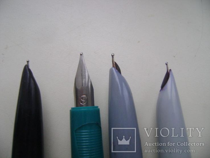 Ручки перьевые и подставка, фото №3