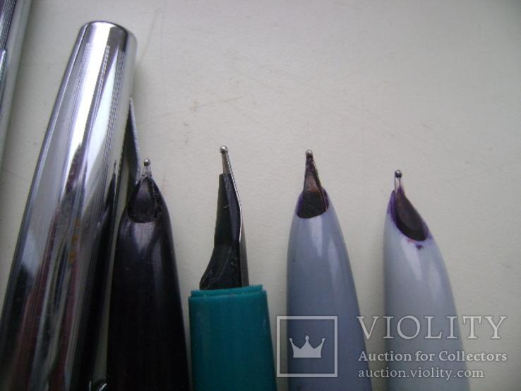Ручки перьевые и подставка, фото №4