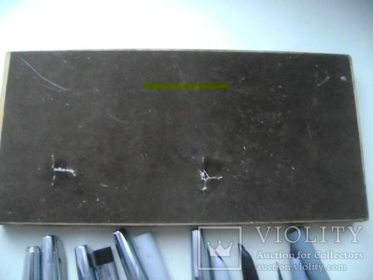 Ручки перьевые и подставка, фото №7