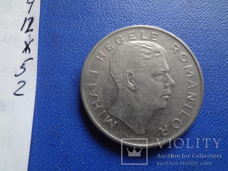100  лей  1943  Румыния   (Ж.5.2)~, фото №2