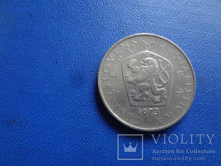 5 крон  1973  Чехословакия   (Ж.5.3)~, фото №3