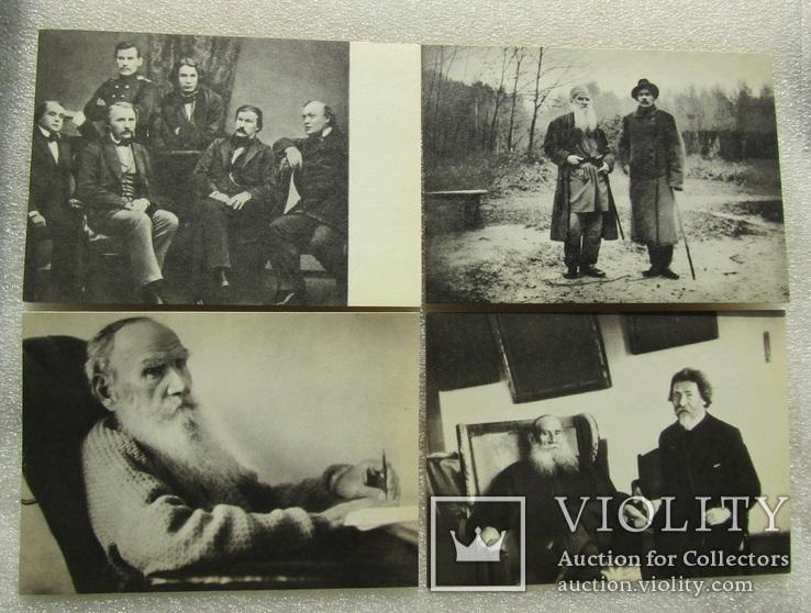 """Комплект открыток. """"Лев Толстой"""". 1970р (21шт), фото №7"""
