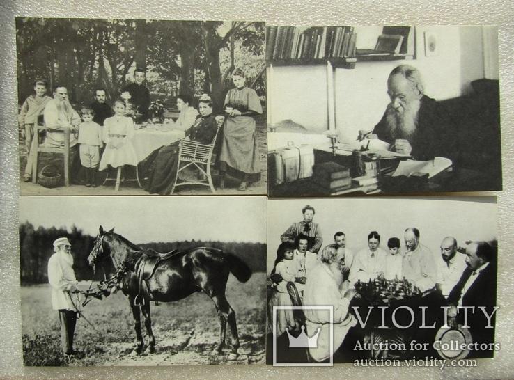 """Комплект открыток. """"Лев Толстой"""". 1970р (21шт), фото №9"""