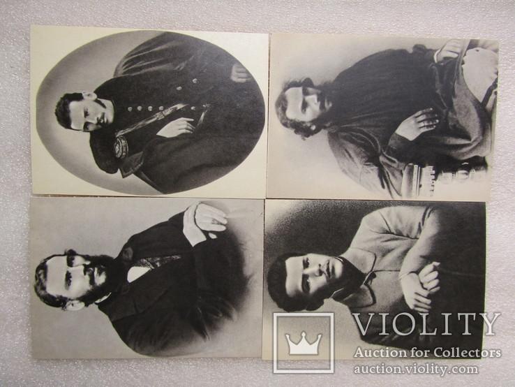 """Комплект открыток. """"Лев Толстой"""". 1970р (21шт), фото №11"""