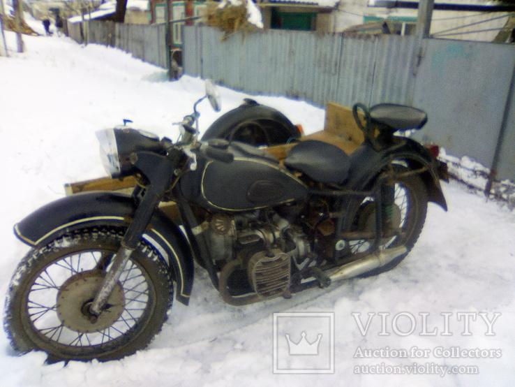 Мотоцикл к-750 с документом