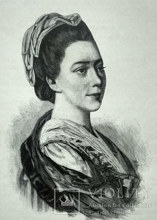 Фальконе( Колло) Мария Анна ксилография 1895 год.