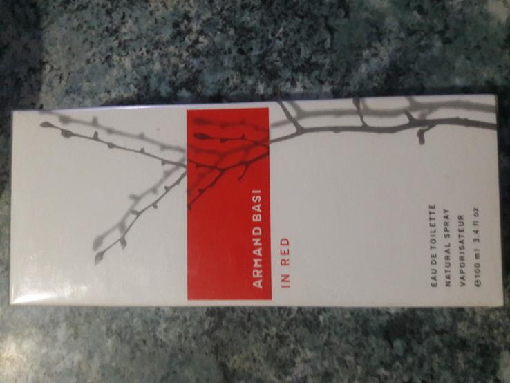 Аромат Armand Basi in Red 100 ml. Новий запакований.