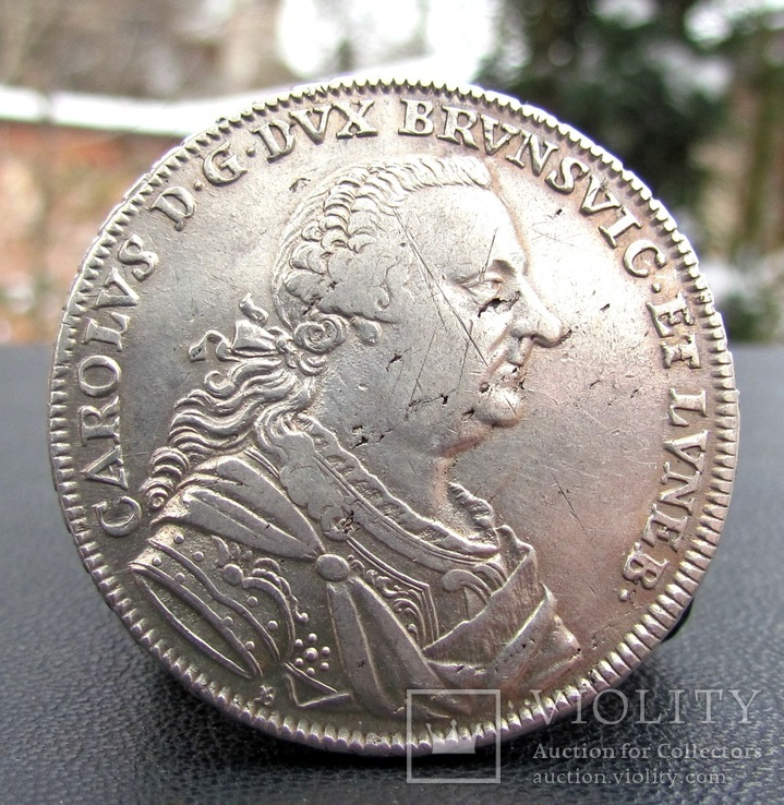 Талер 1763 р. Брауншвейх