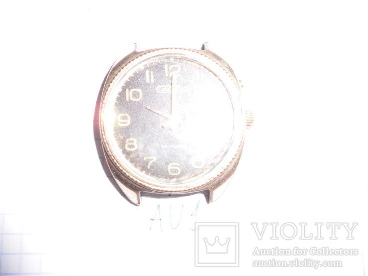 """Часы мужские """" Слава"""", корпус  AU 1, рабочие, фото №3"""