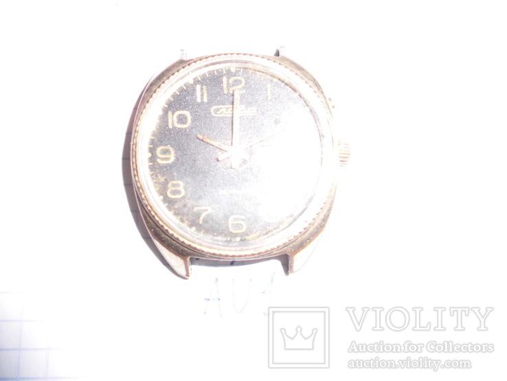 """Часы мужские """" Слава"""", корпус  AU 1, рабочие, фото №4"""