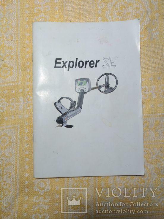 Руководство к металлоискателю Minelab Explorer SE